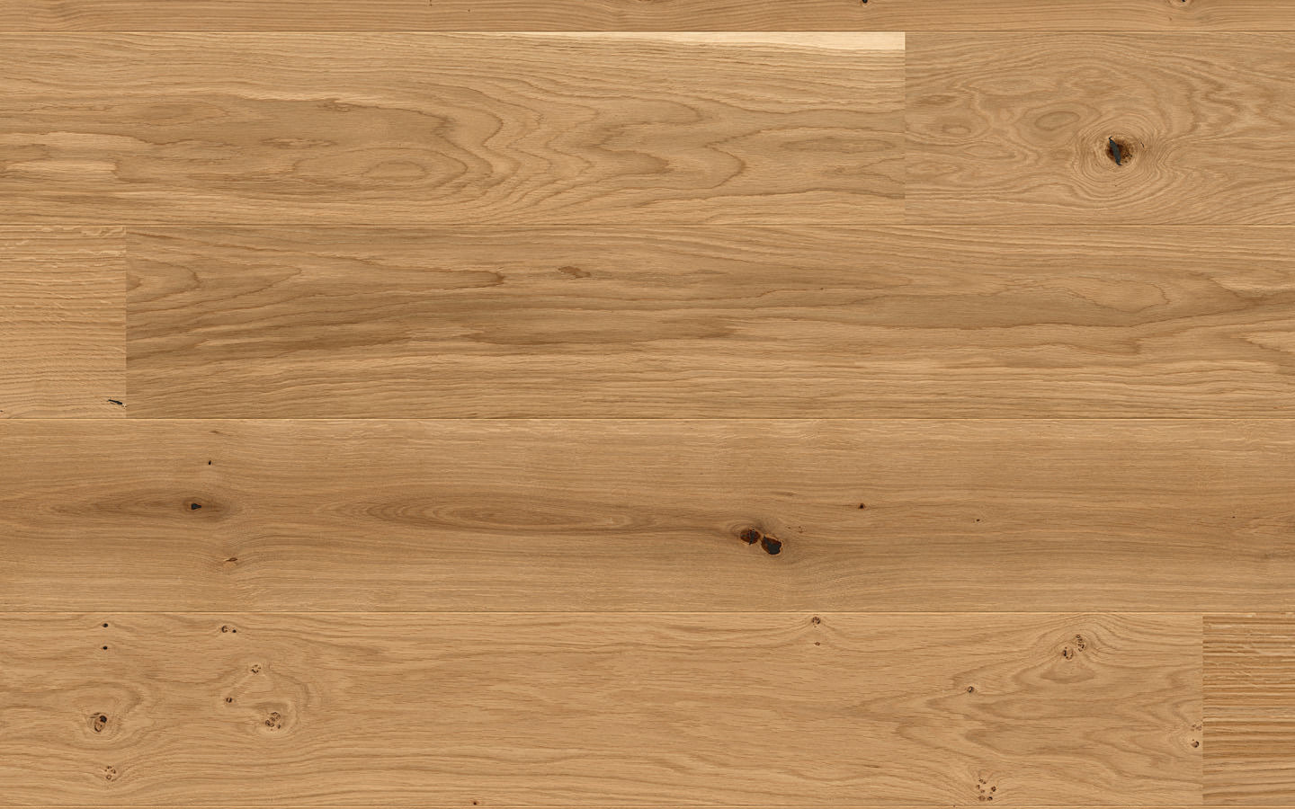 Villa by adler 35 Rustico - Oak Natur rustico wire brushed natural oiled - 14 x 186 x 1800/2000 mm